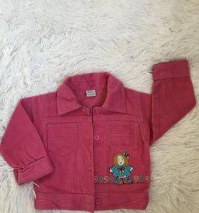 Розовый костюмчик для девочки