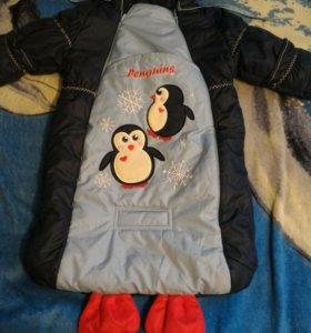 Конверт пингвин