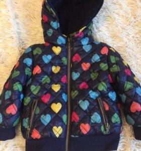 Куртка на девочку 6-12 мес
