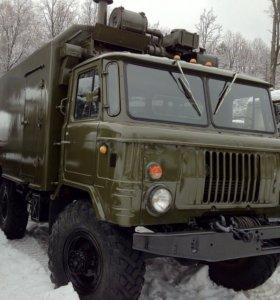 Военный ГАЗ 66 с хранения