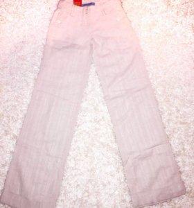 Новые женские льняные брюки
