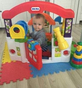 Развивающий домик для малышей