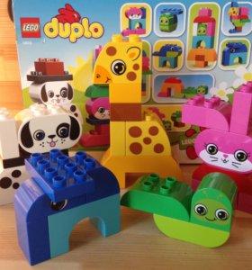 LEGO duplo ,,Веселые зверюшки,,