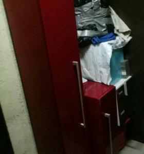 Шкаф и напольная тумба бу
