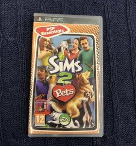 Игра на PSP «Sims 2.Pets»