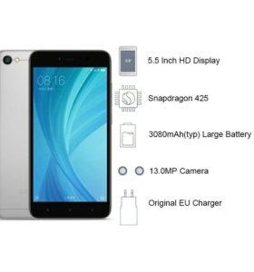 "Запакованный Xiaomi redmi note 5A 5.5"""