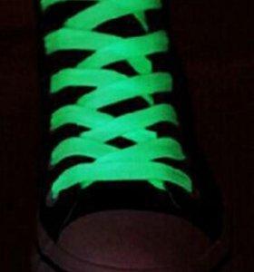 Шнурки (светятся в темноте)