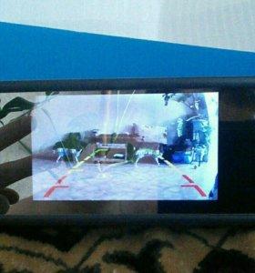 Зеркало заднего вида с монитором и камерой