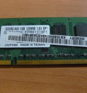 DDR2 1 гб