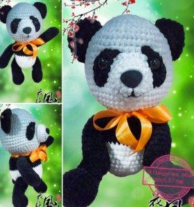 Игрушка плюшевая Панда (ручная работа)