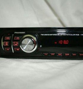Магнитолы Pioneeir Bluetooth. Автомагнитолы Новые.