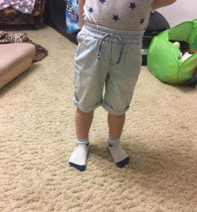 Новые джинсовые шорты mothercare