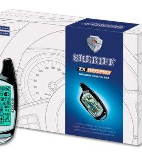 Автосгнализация SHERIFF ZX-1095 PRO автозапуск