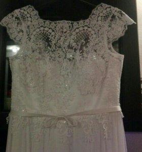 Свадебное платье,новое