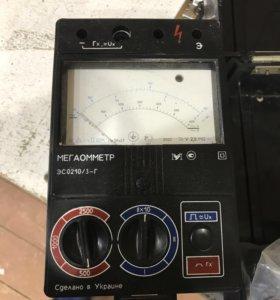Мегаомметр эс0210/3-г