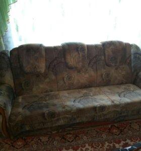 Продаётся диван- кровать, в хорошем состоянии