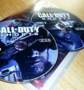 CALL OF Duty GHOSTS на XBOX 360