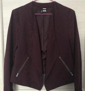 Бордовый пиджак