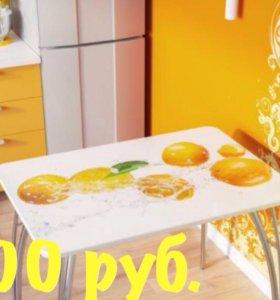 Обеденные столы с фотопечатью