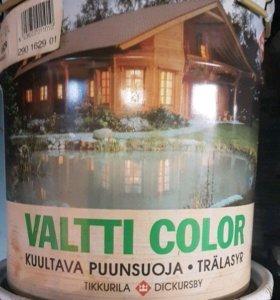 "Фасадная краска ""valtti color"" Tikkurila"
