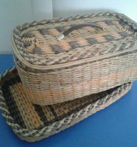 Хлебницы, подносы и наборы для кухни