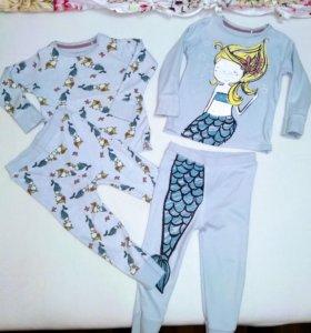 Пижамы для девочки до 92 см.