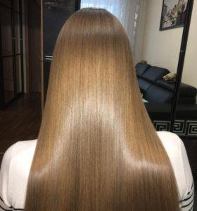 Ботокс волос кератин волос