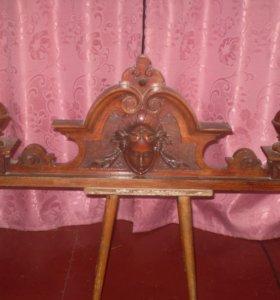 Старинный буфет XIX века ручной работы
