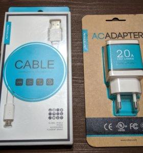 Nillkin адаптер и usb-кабель