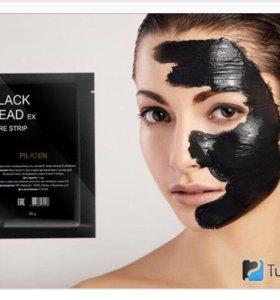 Чёрная маска для лица | Black mask