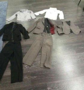 Школьный костюм тройка.Цена за все