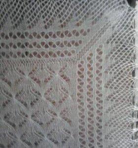 Пуховые платки, шарфы