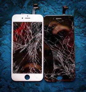 Дисплей iPhone 5/5s/6/6s/7 Замена Ремонт