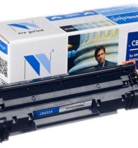 Картридж NV Print CB435A для HP