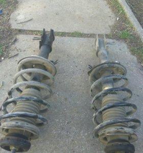 Амортизаторы с пружинами передние chevrolet t200