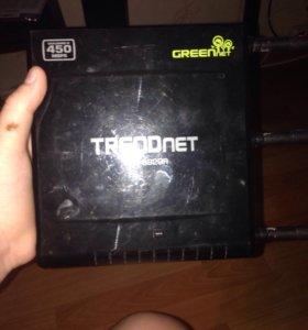 Роутер 450 мегабит в секунду trendnet