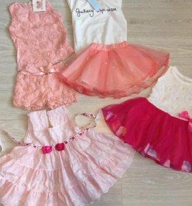 Платья 250₽ на 2-3 года