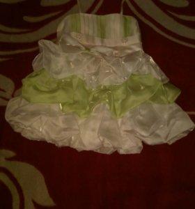 Платье детское бальное.