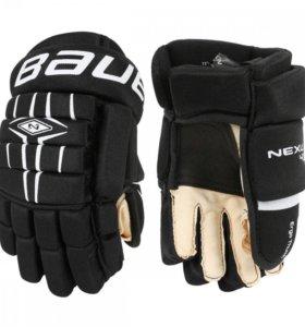 """Краги, перчатки хоккейные Bauer Nexus 400 12"""""""