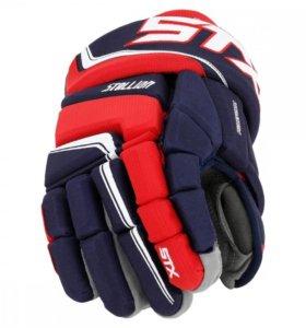 "Краги, перчатки хоккейные STX Stallion 300 12"""