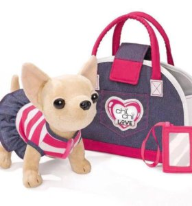 Собачка Чи чи лав в сумочке