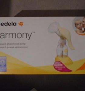 ручной двухфазный молокоотсос Medela harmony