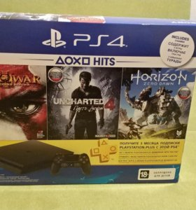 Playstation 4 slim 500gb новая PS4