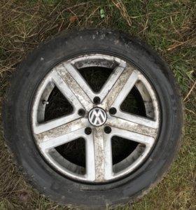Колёса Volkswagen Touareg