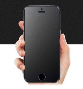 Матовое стекло на iPhone 5/5c/5s/SE