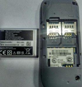 Телефон Samsung DUOS GT-E1202 (2 SIM) на запчасти