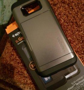 Чехол-визитница Spigen Slim Armor (Galaxy S8 Plus)
