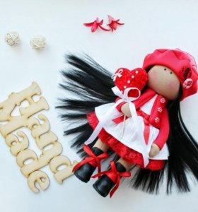 Интерьерная кукла, 💯% ручная работа.