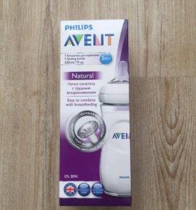 бутылочка для кормления Avent новая