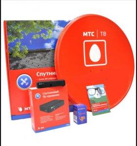 Продажа и установка Спутникового ТВ МТС